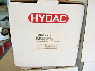 Hydac 1263776 Hydraulic Filter New In Original Packaging 2600 R 003 On-b6