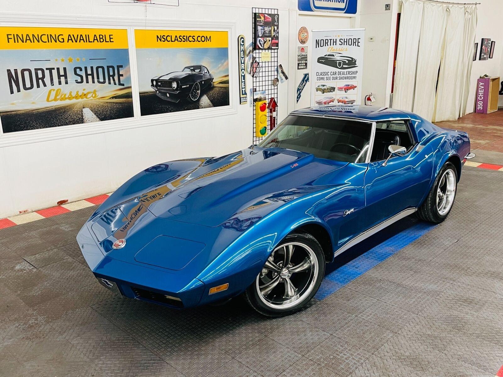 1973 Blue Chevrolet Corvette Coupe  | C3 Corvette Photo 1