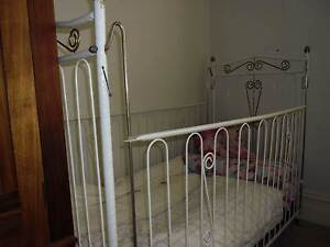 old white cot good for dolls Murray Bridge Murray Bridge Area Preview