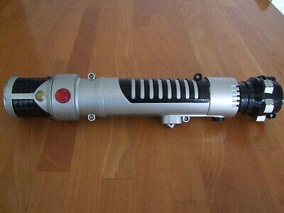 Star Wars Light Sabre spring loaded-light and sound FX Hasbro 2006