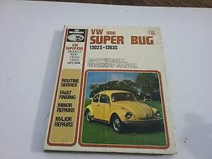 Volkswagen Beetle WORKSHOP MANUAL SEE PHOTOS, DETAILS  BELOW. St Georges Basin Shoalhaven Area Preview