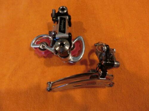 Campagnolo Super Record Front (clamp on) & Rear Derailleur Set