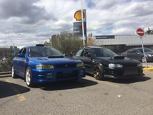 Looking for blown up gc8 sti/wrx