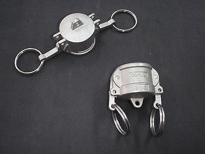 Stainless Steel Cam Lock Cap Cover 12 Assembly Clcv050