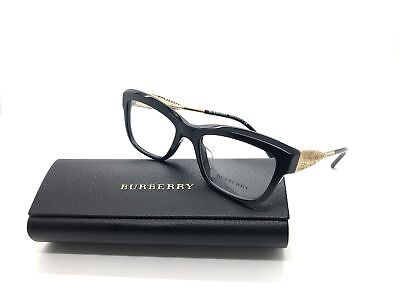 BURBERRY Frames CatEye Popular Eyeglasses B 2211-f 3001 53-19 Black (Burberry Glass Frames)