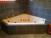 Corner Spa Bath Tub Burwood Burwood Area Preview