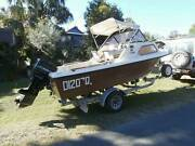 Half Cabin boat regretful sale Warana Maroochydore Area Preview