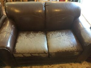 Love seat, chair and foot rest