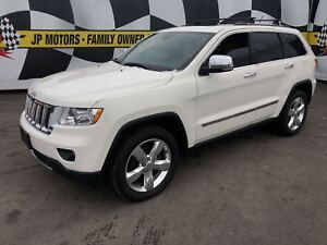 2012 Jeep Grand Cherokee Overland, Navigation, Leather, Pan Sunr