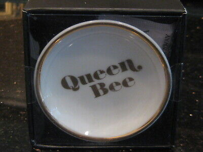 NEW IN BOX QUEEN BEE Trinket tray , ring holder, jewelry dish Great gift idea