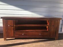 Timber TV unit Oakville Hawkesbury Area Preview