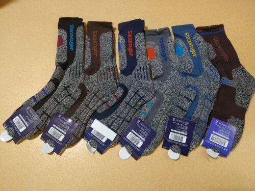 5 Pairs Slazenger Men Long Socks for Climbing/Hiking/Outdoor Sport Coolmax