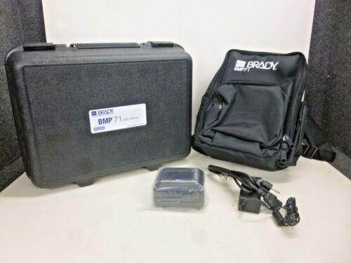 NEW BRADY Portable Label Printer KIT, BMP71-SC-QC