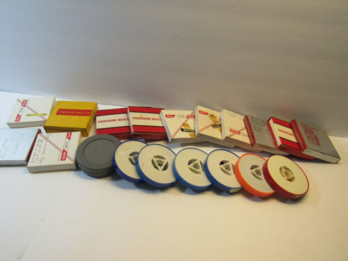 Home Movies - Lot of 19 Misc Old Home Movies 8mm Film 60
