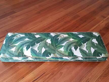 Mud Room Cushion - Tommy Bahama Green Palms