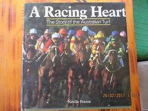 "Book for Sale..""A Racing Heart.  The Story of the Australian Turf Acacia Ridge Brisbane South West Preview"