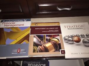 16 Textbooks for Bachelor of Business