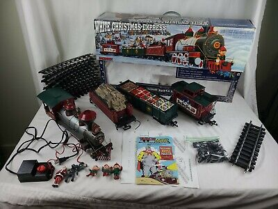 "Bachmann White Christmas Express Electric Train Set - Large ""G"" Scale 90023"