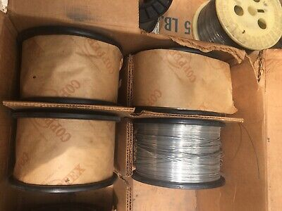 Round Stitching Wire 5lb Spool Of 25 Gauge Galvanised Bindery Stitchers