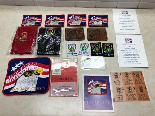 1999 Boy Scout World Jamboree Chile Collection