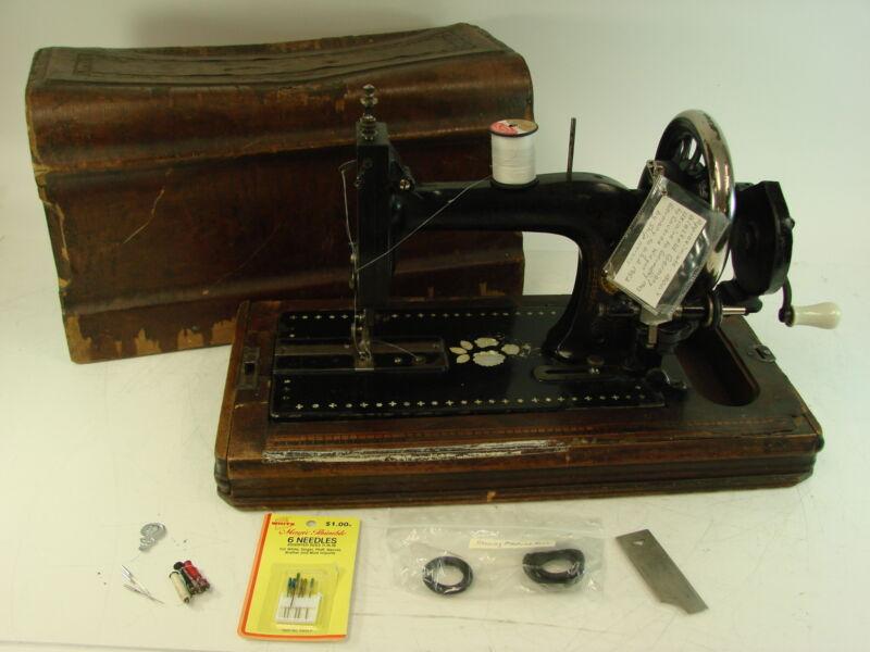 Vtg 1800s Anchor Machines Co. Bielfeld Germany Singer Sewing Machine Manual