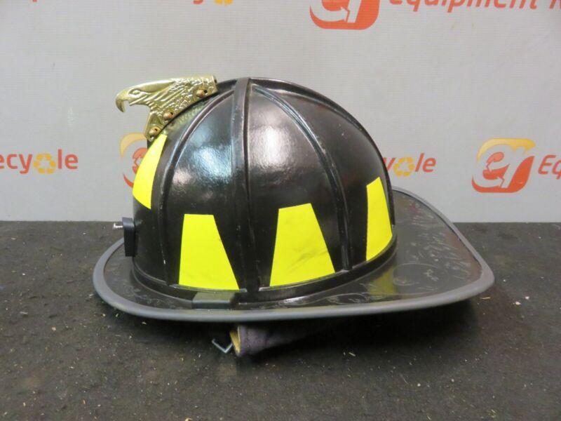 Morning Pride Firefighter Helmet Eagle Turnout Neck Cairns HT-BF2-HDO