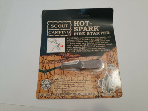 Boy Scout Camping Gear Hot Sparks Mint In Package A Must Have
