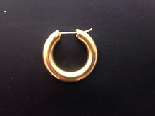 18ct gold hoop Cronulla Sutherland Area Preview