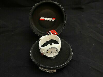 NEW Rare Ferrari Scuderia White Pit Crew Watch