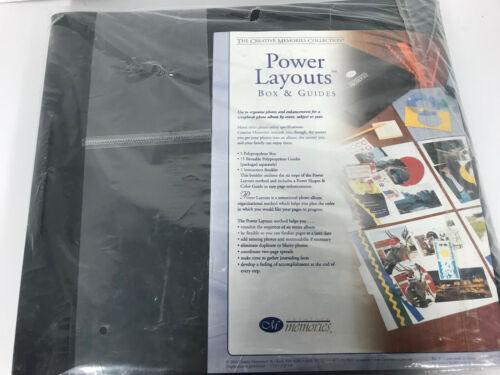 "Creative Memories Power Sort Layout Box 12"" x 12"" Page Organizer"