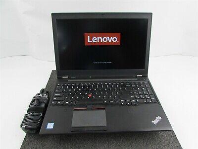 LENOVO THINKPAD P50 1920X1080 FHD CORE I7-6820HQ 256GB SSD 8GB RAM WIN 10 PRO