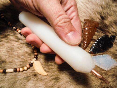 XL PRESSURE FLAKER TOOL PRO GRADE Flint Knapping Primitive Skinning Preform Wolf