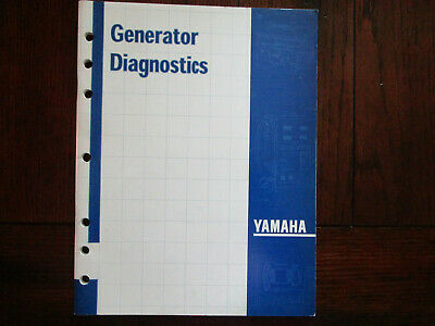 Yamaha Generator Diagnostics Workbook Troubleshoot