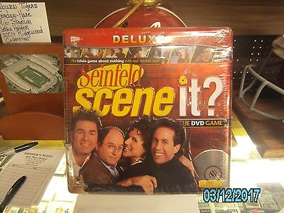 Seinfeld Scene It ?  DVD Game Deluxe NEW Factory Sealed-In Collecters Tin $3 OFF