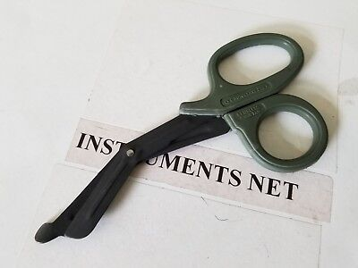 Paramedic Emt Trauma Shears Scissors First Aid 7.25 Olive Drab