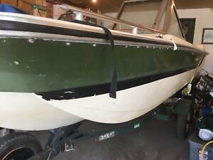 15 foot Starcraft open bow with 80 HP MERCURY motor