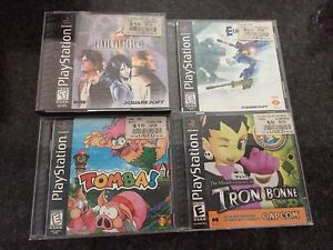 PLAYSTATION 1 PS1 Games RARE EXCELLENT Condition & COMPLETE