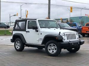 2014 Jeep Wrangler SPORT**4X4**SOFT TOP**6 SPEED MANUAL