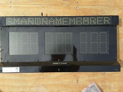 Able Applied Technologies Led Sign Indoor Outdoor Model Pt-540138-01sp 2 Sided