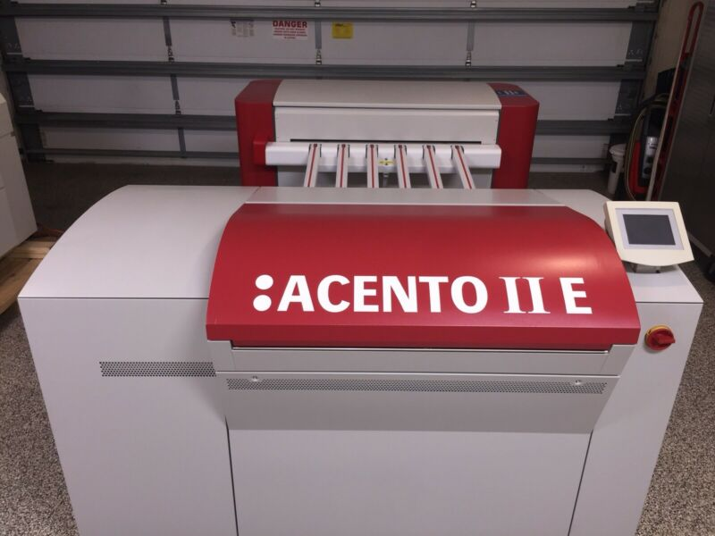 Screen Platerite 4300 CTP Platesetter Agfa Branded With C95 Wash Out  529 Hours