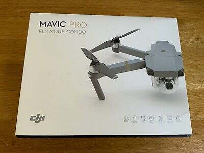 DJI Mavic Pro Fly More Combo Grey 4K 12MP Camera Drone Quadcopter CP.PT.000642