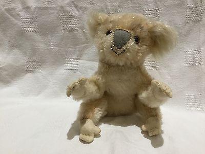 Sweet little  old  Steiff 50s vintage KOALA Bear.