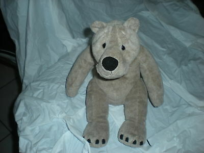 SECOND NATURE TAN BEAR PLUSH CUDDLY QUARRY CRITTERS   for sale  Clearwater