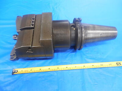 Kaiser Kpt Cat50 11.363.774 Tool Holder With 317.241 Twin Bore Boring Head U.s.a
