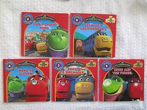 5 x Chuggington Train hard cover books - in vg used condition Rose Bay Eastern Suburbs Preview