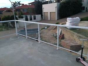 Framed Glass Balustrading Ocean Reef Joondalup Area Preview