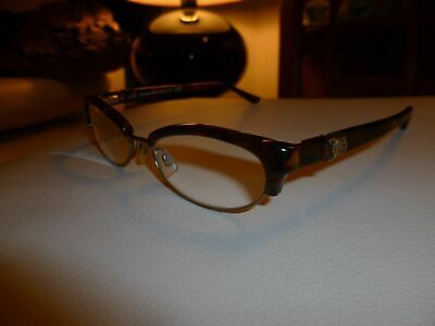 Stilvolle italienische Damen Brille JOHN GALLIANO +1,25 (52/17/135) Lesebrille