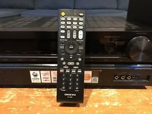 Surround sound receiver with a set of 5.1 speakers