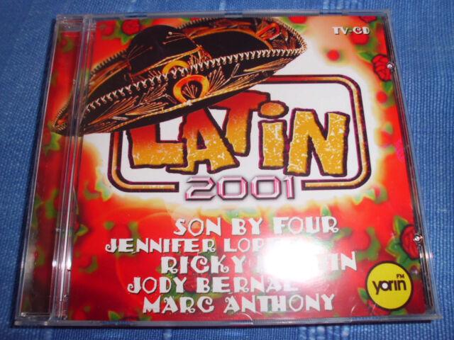 LATIN 2001 Jennifer Lopez, Ricky Martin, Toni Braxton, uva. CD 20 Tracks RAR+TOP