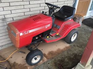 Rally 12 hp lawn tractor/ride on mower